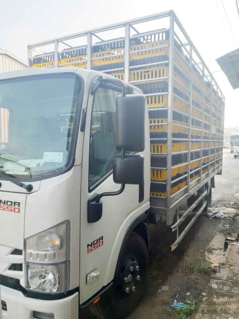 Xe tải thùng chở gia cầm gà vịt
