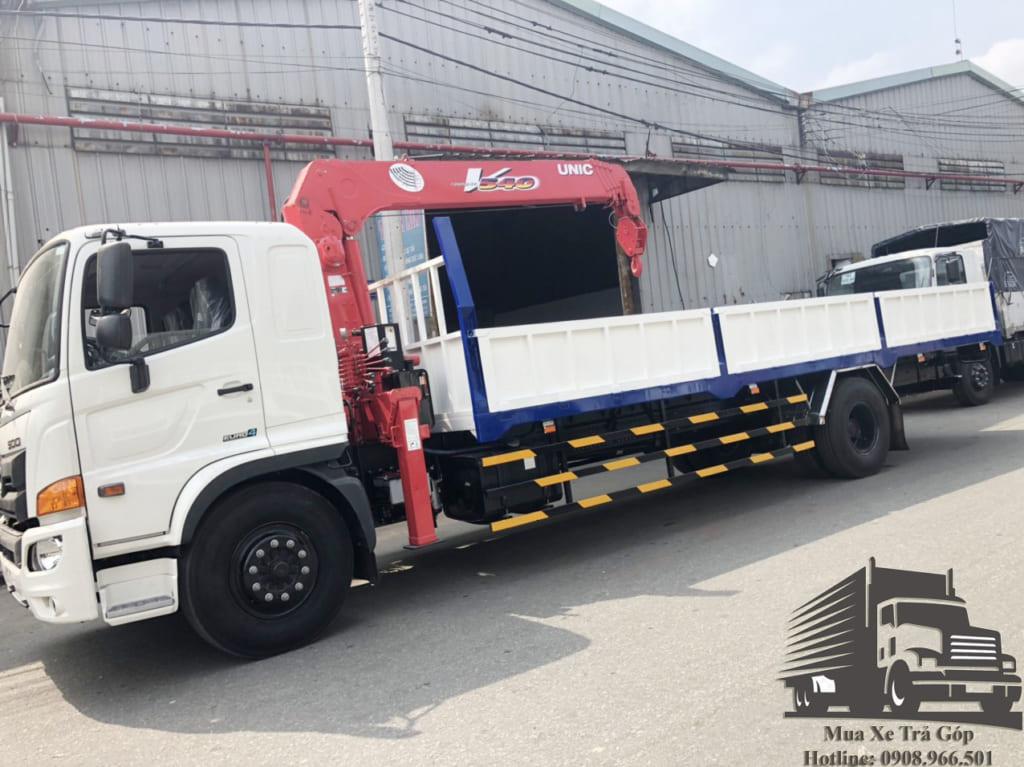 xe tải hino fg8jt7a gắn cẩu