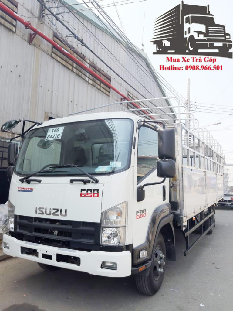 xe tải thùng isuzu 6t4