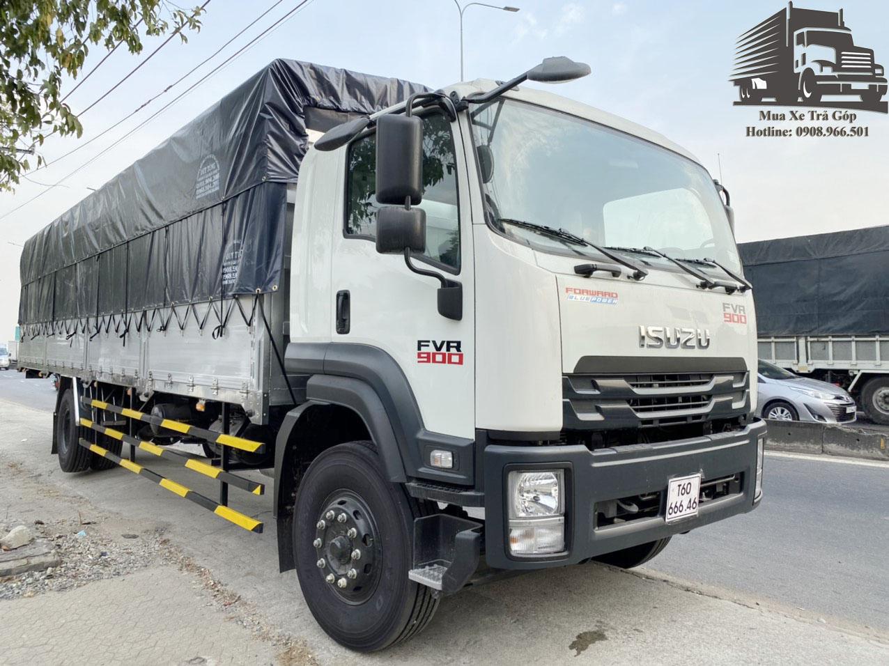 xe tải ISUZU 8t thùng siêu dài