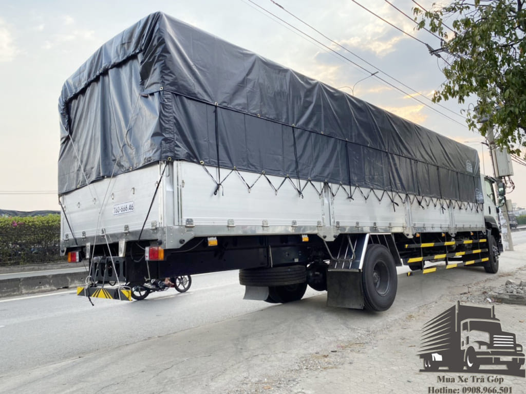 xe tải ISUZU FVR34UE4 thùng dài